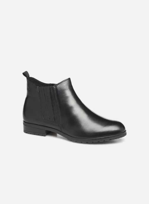 Ankle boots Caprice Thelma Black detailed view/ Pair view