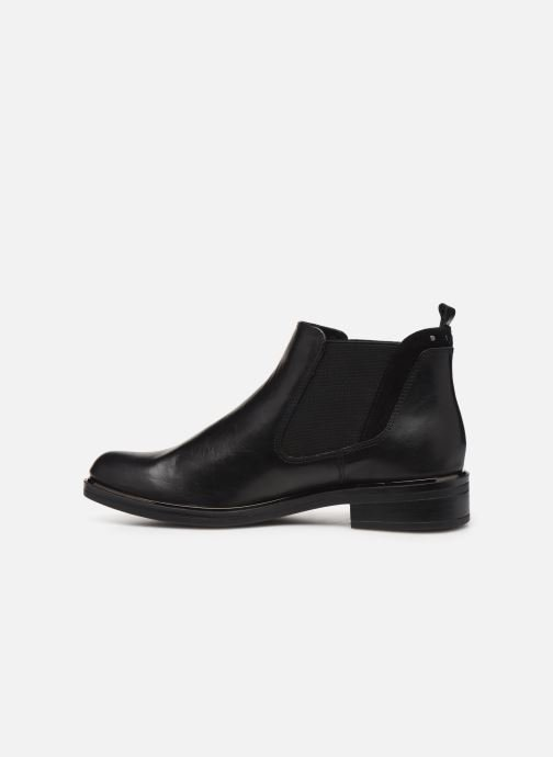 Ankle boots Caprice Saly Black front view