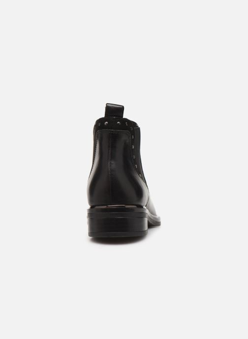 Ankle boots Caprice Saly Black view from the right