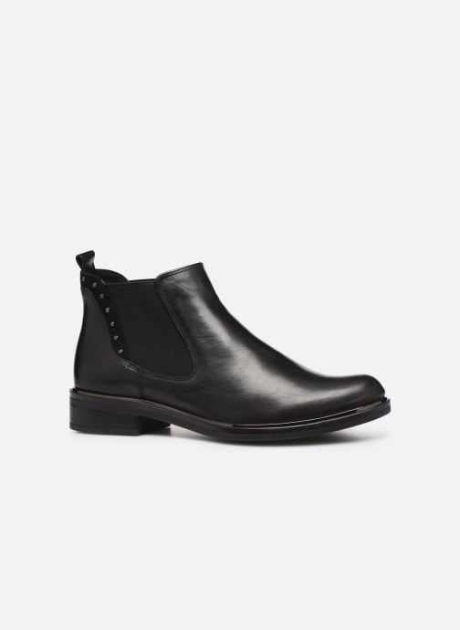Ankle boots Caprice Saly Black back view