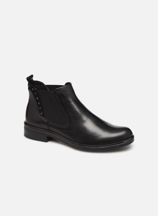 Ankle boots Caprice Saly Black detailed view/ Pair view