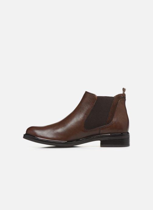 Bottines et boots Caprice Saly Marron vue face
