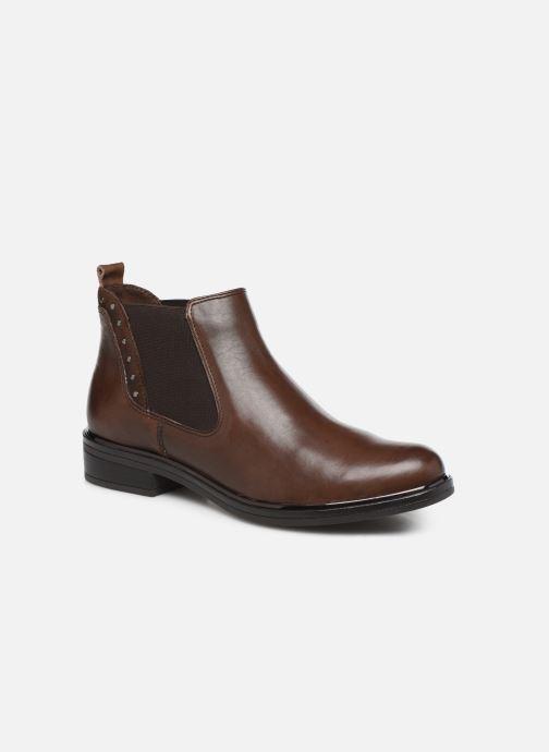 Bottines et boots Caprice Saly Marron vue détail/paire