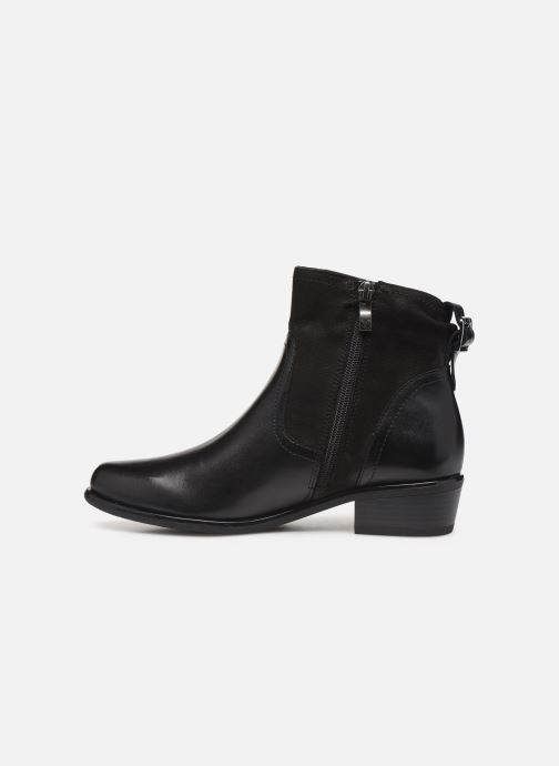 Ankle boots Caprice Ava Black front view