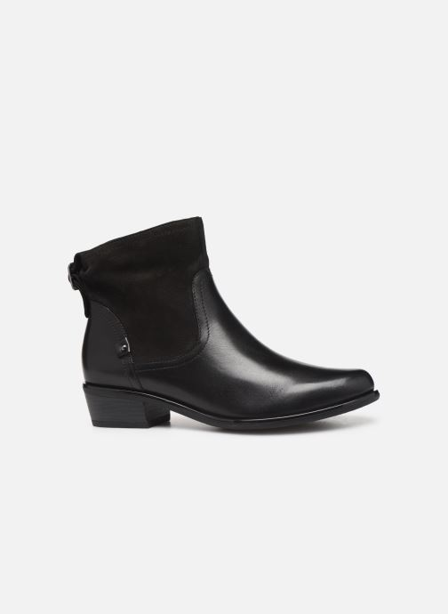 Ankle boots Caprice Ava Black back view