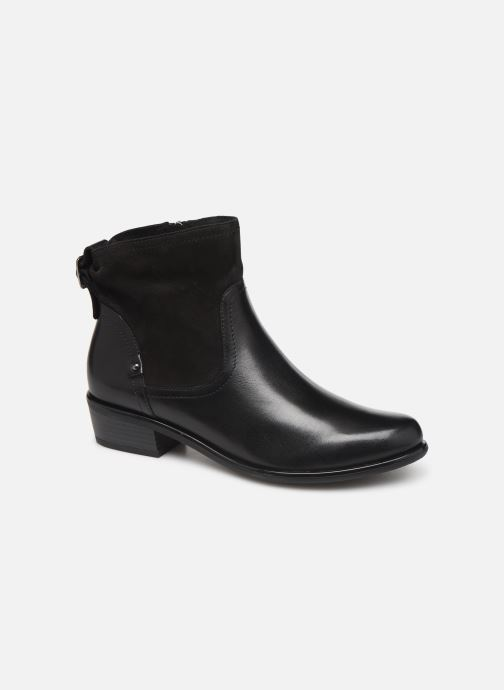 Ankle boots Caprice Ava Black detailed view/ Pair view