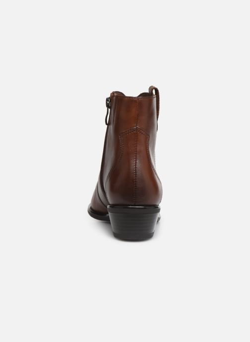 Bottines et boots Caprice Holy Marron vue droite