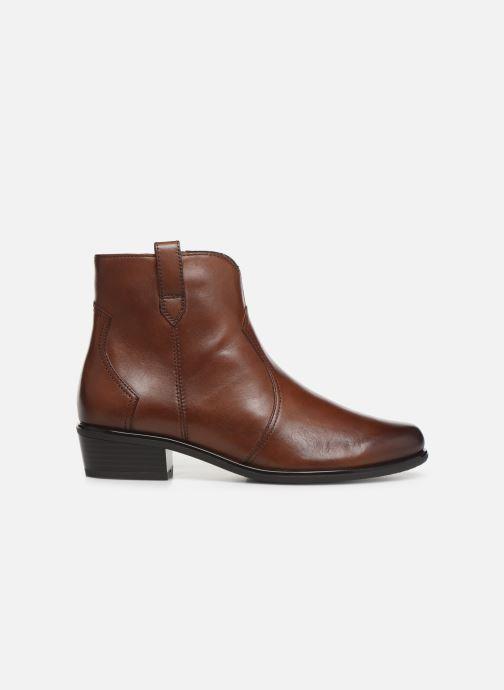 Boots en enkellaarsjes Caprice Holy Bruin achterkant