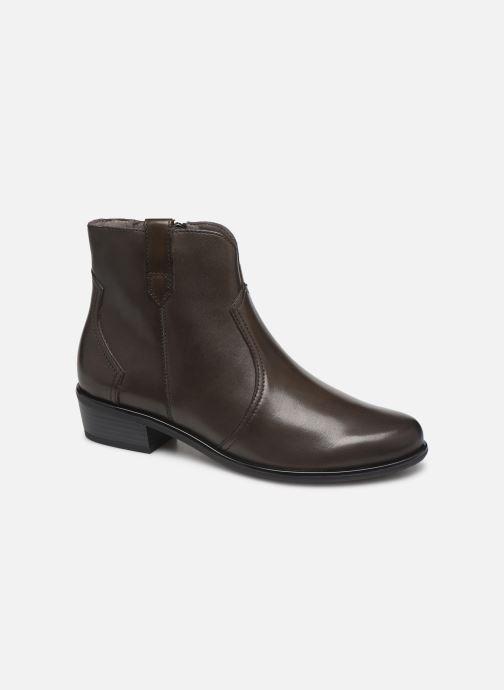 Bottines et boots Caprice Holy Vert vue détail/paire