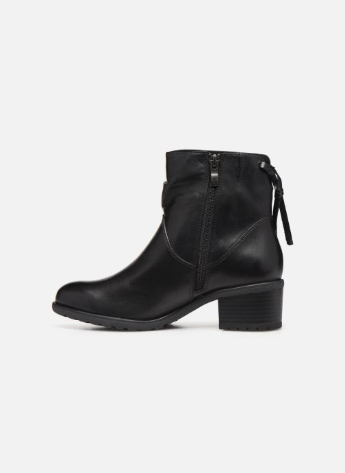Ankle boots Caprice Nina Black front view