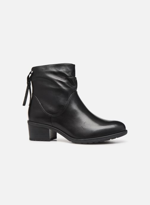 Ankle boots Caprice Nina Black back view