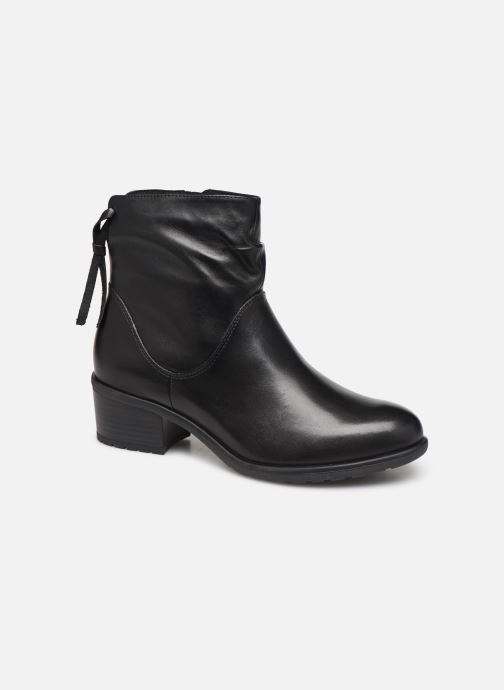 Ankle boots Caprice Nina Black detailed view/ Pair view