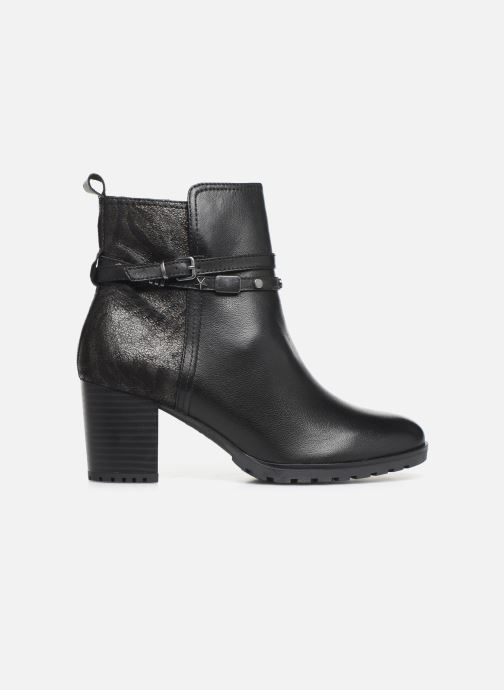 Ankle boots Caprice Samantha Black back view