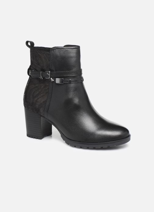 Ankle boots Caprice Samantha Black detailed view/ Pair view