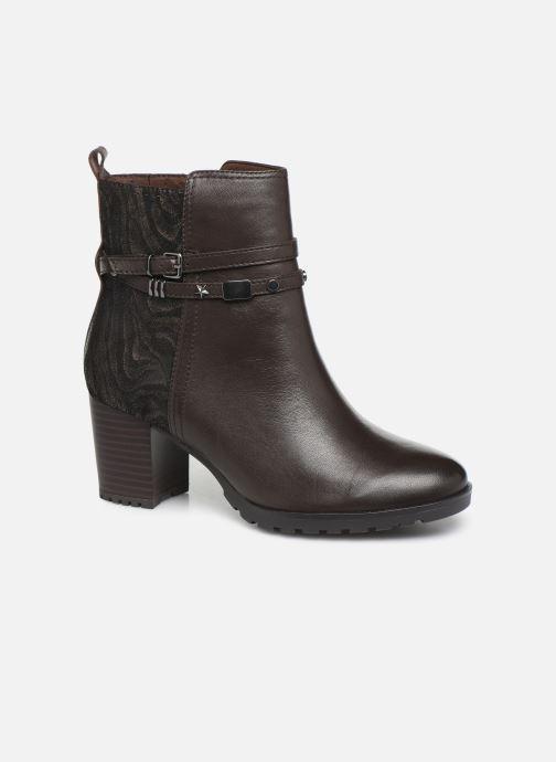 Bottines et boots Caprice Samantha Marron vue détail/paire