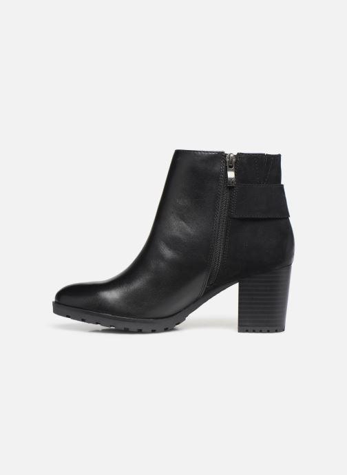 Bottines et boots Caprice Doly Noir vue face