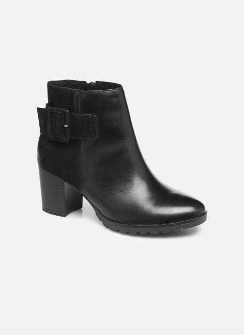 Bottines et boots Caprice Doly Noir vue détail/paire