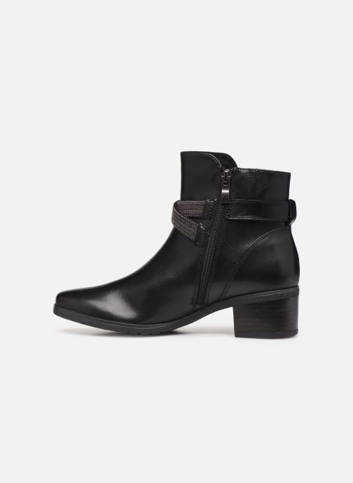 Ankle boots Caprice Cyriel Black front view