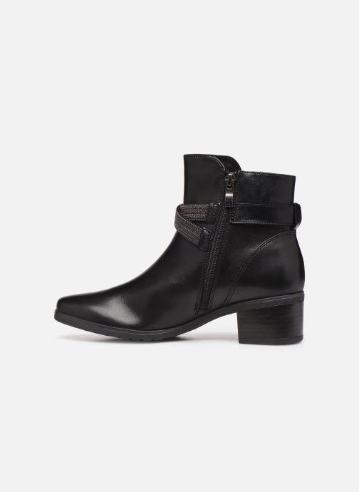 Bottines et boots Caprice Cyriel Noir vue face
