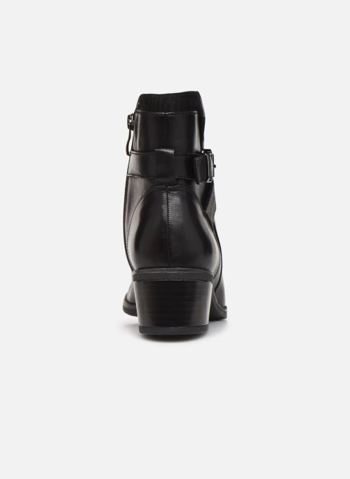Ankle boots Caprice Cyriel Black view from the right
