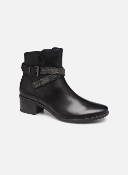 Ankle boots Caprice Cyriel Black detailed view/ Pair view