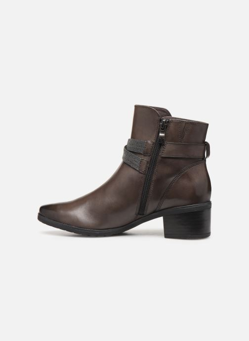 Ankle boots Caprice Cyriel Grey front view