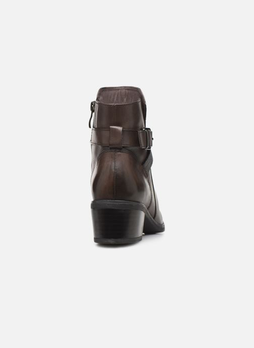 Ankle boots Caprice Cyriel Grey view from the right