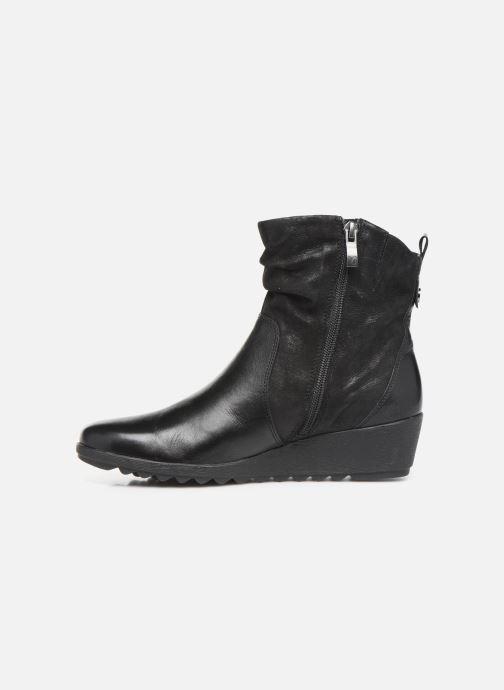 Bottines et boots Caprice Lucia Noir vue face