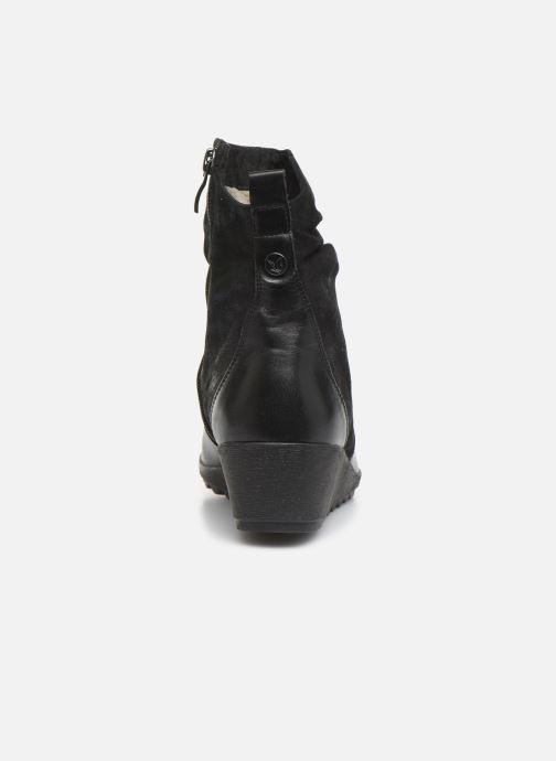 Bottines et boots Caprice Lucia Noir vue droite