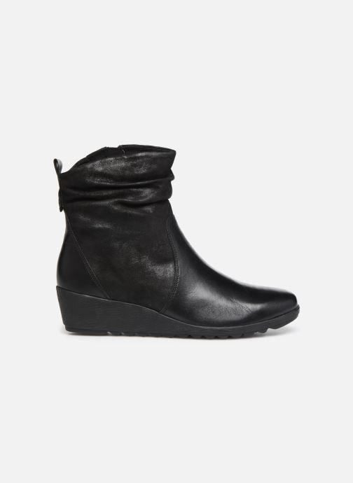 Bottines et boots Caprice Lucia Noir vue derrière