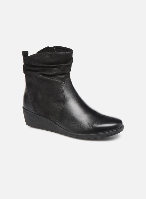 Bottines et boots Caprice Lucia Noir vue détail/paire