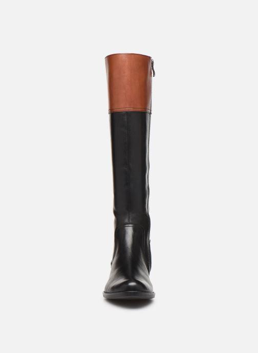 Bottes Caprice Talara Noir vue portées chaussures