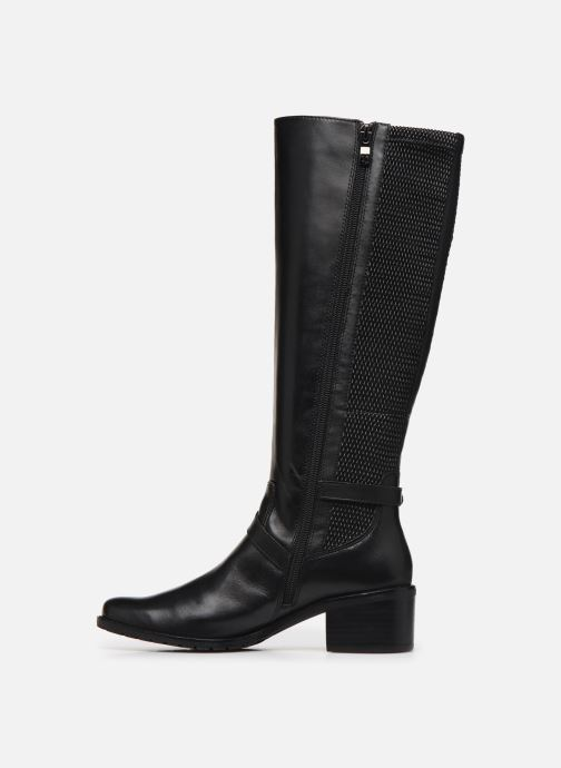 Boots & wellies Caprice Sylvia Black front view