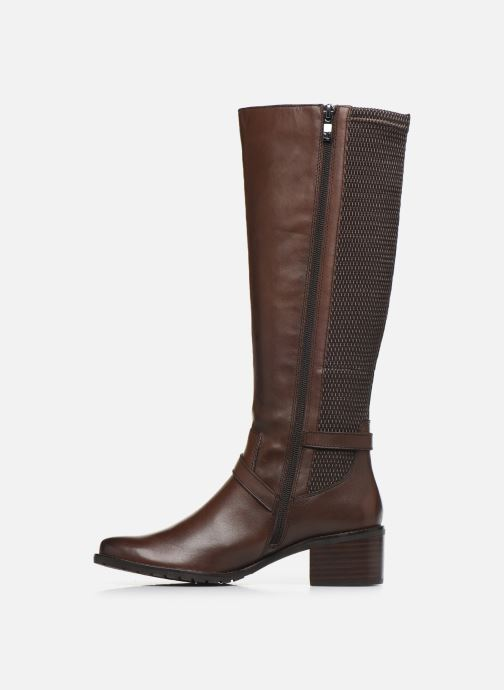Boots & wellies Caprice Sylvia Brown front view