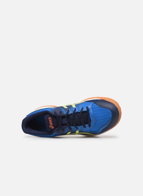 Chaussures de sport Asics Gel-Rocket 9 Bleu vue gauche