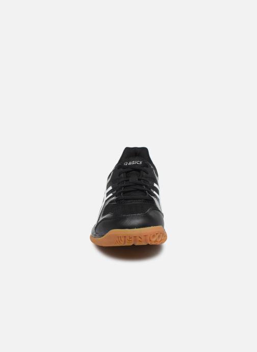Chaussures de sport Asics Gel-Rocket 9 Noir vue portées chaussures