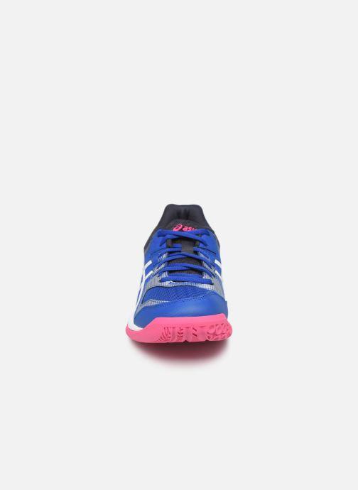 Chaussures de sport Asics Gel-Rocket 9 Bleu vue portées chaussures