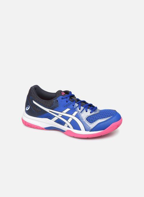 Chaussures de sport Asics Gel-Rocket 9 Bleu vue détail/paire