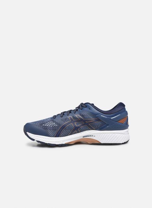 Chaussures de sport Asics Gel-Kayano 26 Bleu vue face