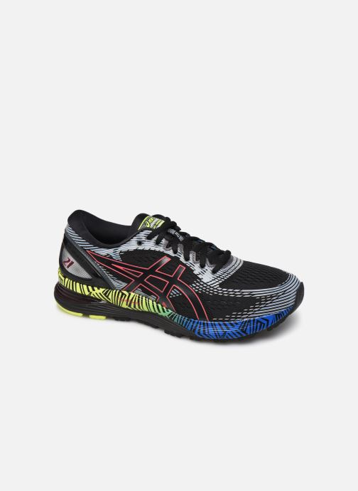 Sport shoes Asics Gel-Nimbus 21 LS Black detailed view/ Pair view
