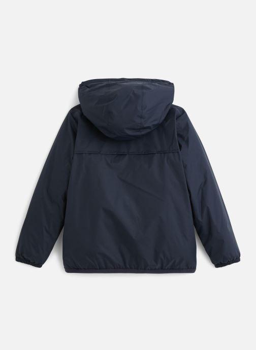 Vêtements K-Way  Le Vrai Claude 3.0 Orsetto Bleu vue bas / vue portée sac