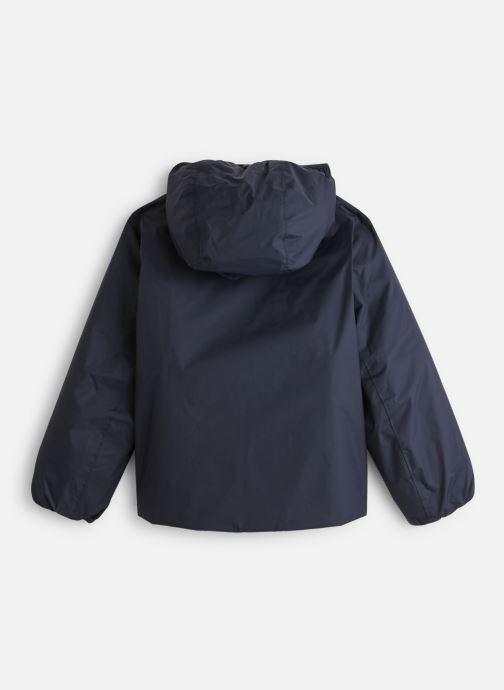 Vêtements K-Way  Jacques Thermo Plus Double Kids Bleu vue bas / vue portée sac