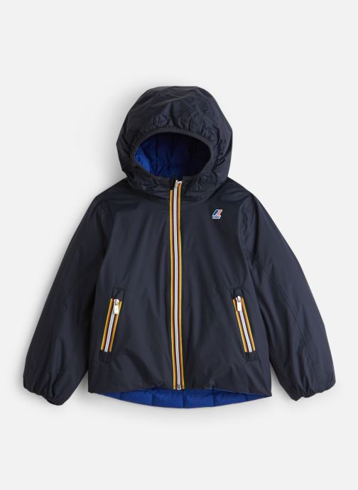Vêtements K-Way  Jacques Thermo Plus Double Kids Bleu vue détail/paire