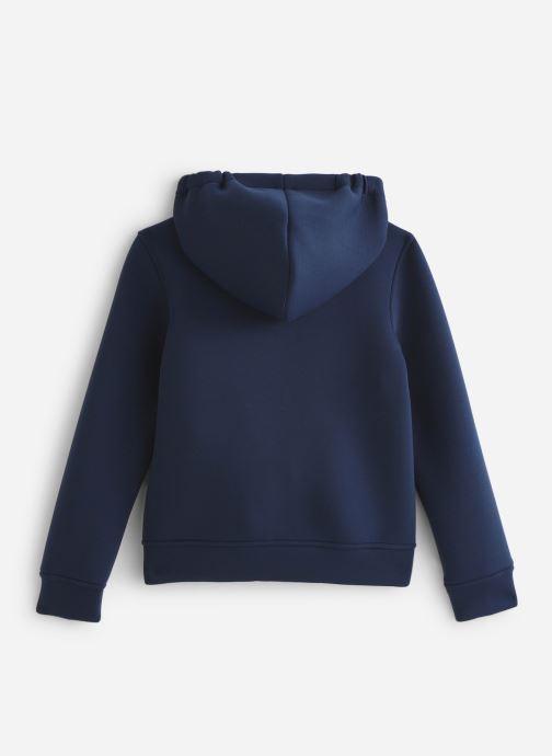 Vêtements K-Way  Rainer Spacer Bleu vue bas / vue portée sac