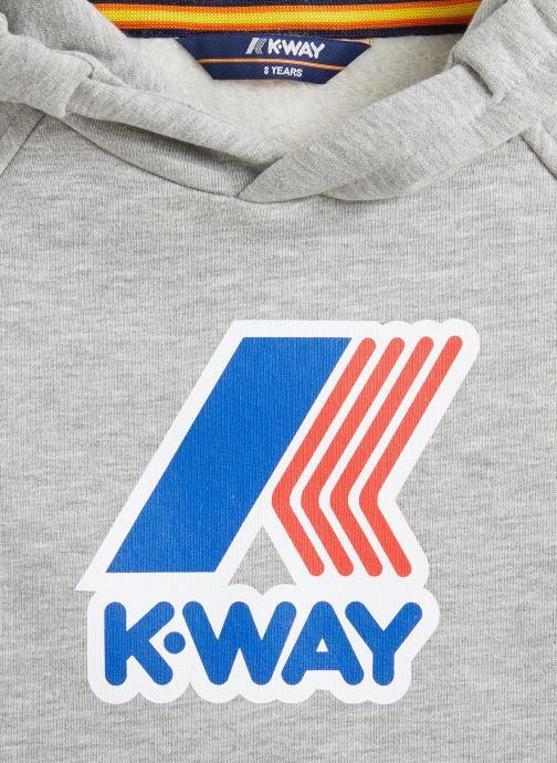 Vêtements K-Way  Loki Magro Logo Gris vue portées chaussures