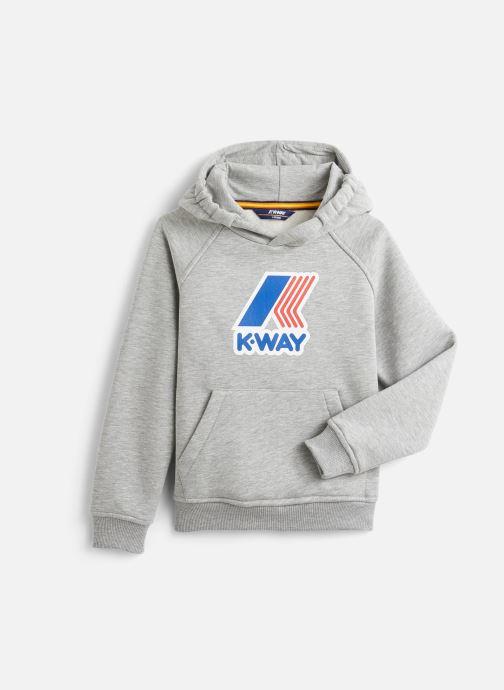Vêtements K-Way  Loki Magro Logo Gris vue détail/paire
