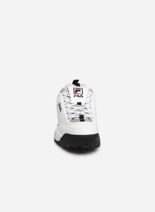 Baskets FILA Disruptor Cb Low M Blanc vue portées chaussures