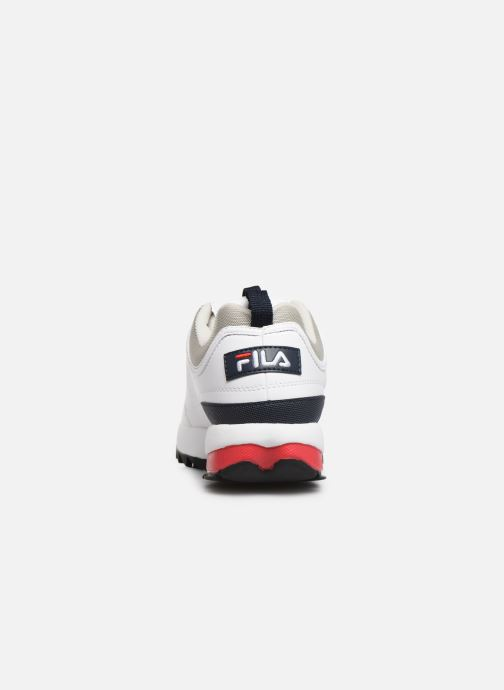 Sneakers FILA Disruptor Cb Low M Wit rechts
