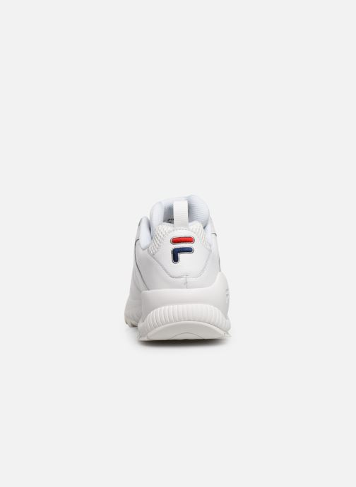 Deportivas FILA Countdown Low Blanco vista lateral derecha