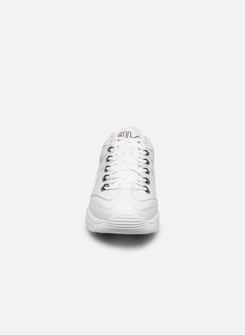 Baskets FILA Strada Hiker Blanc vue portées chaussures